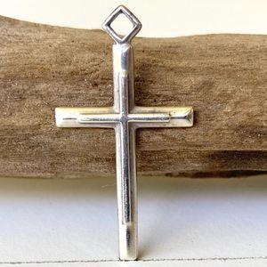 Jewelry - .925 Sterling Silver Cross Pendant